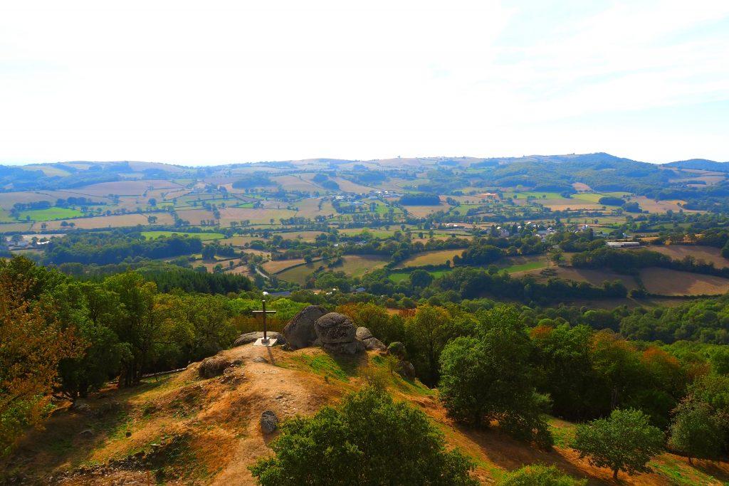 Panorama à la Tour de Peyrebrune